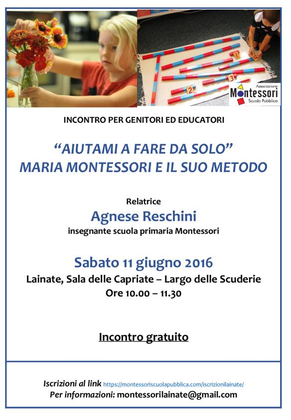 Montessori 11 giugno 2016