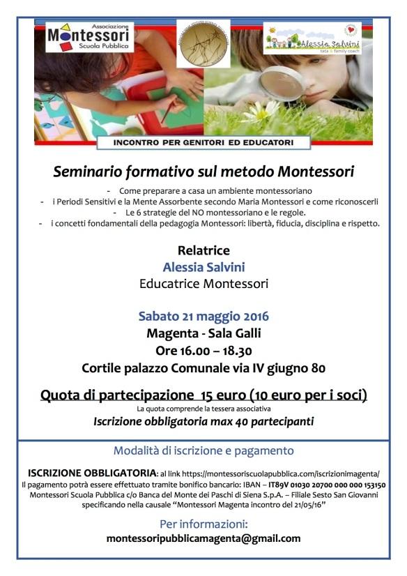 Montessori 21 maggio